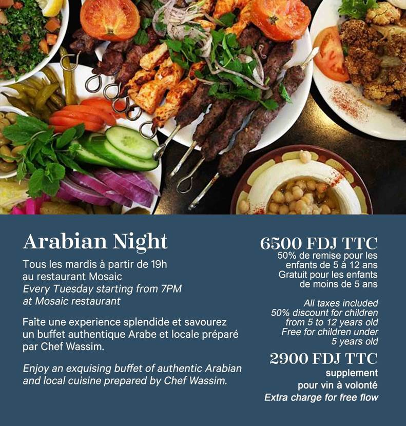 Sheraton Djibouti Hotel and Restaurant Newsletter